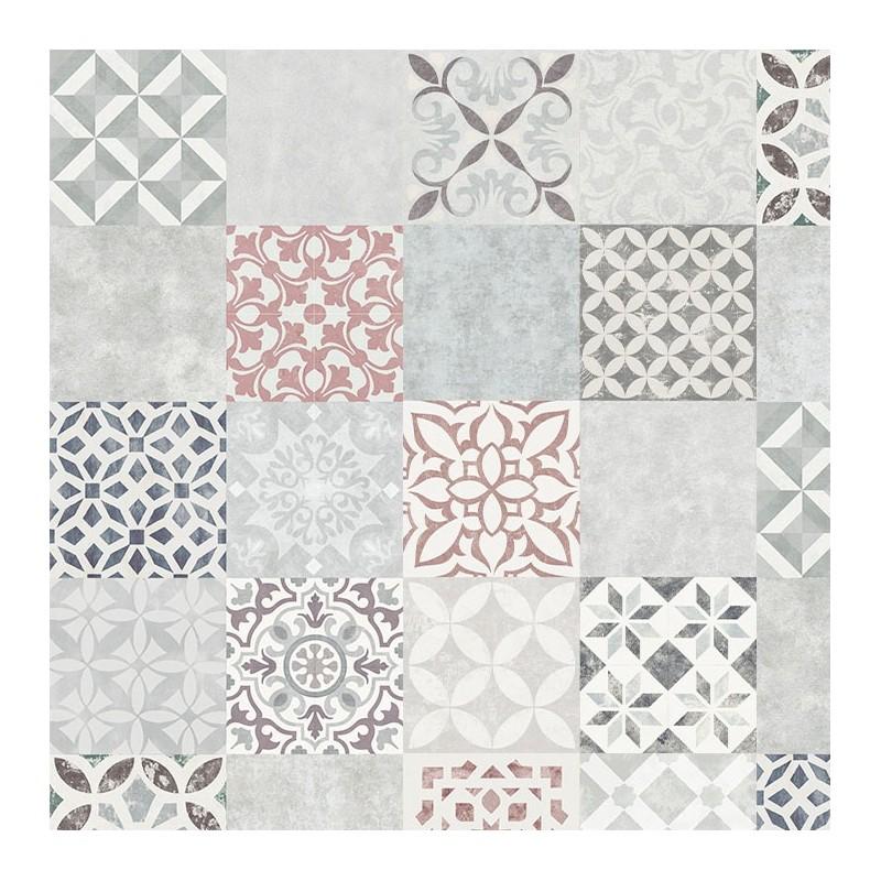 Parquet Stratifie Carreaux De Ciment Mosaique