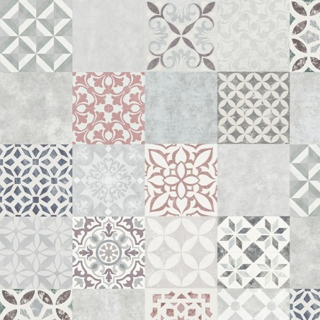 Sol Stratifie Carreaux De Ciment Mosaique