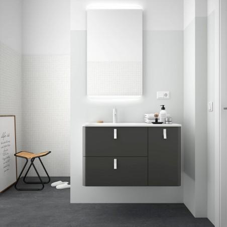 Meuble salle de bain Anthracite Mate